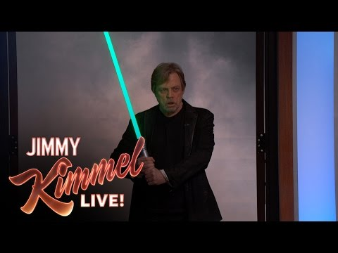 Star Wars  Adam Scott Surprised by His Idol Mark Hamill