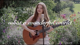 what a wonderful world - louis armstrong (acoustic cover)