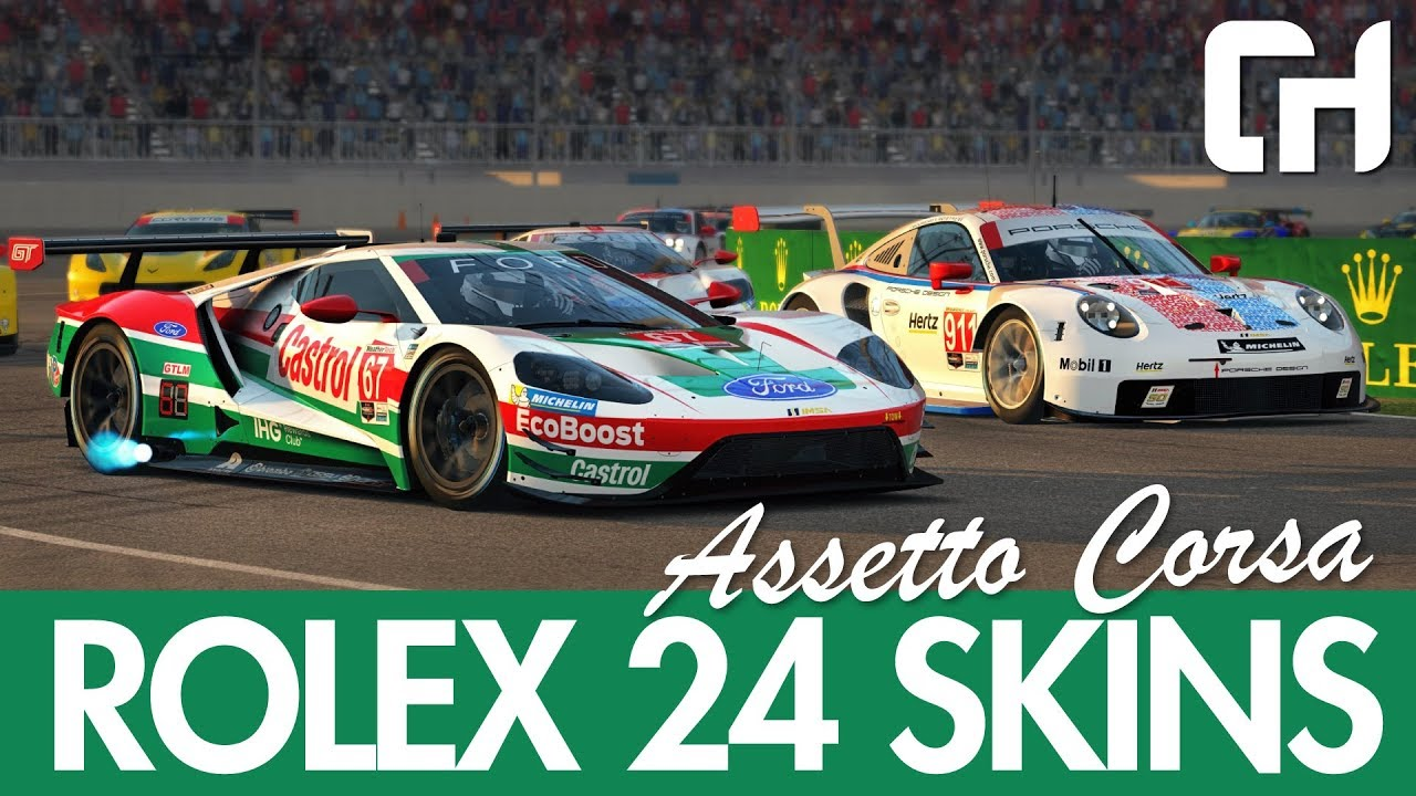 2019 Rolex 24 Assetto Corsa Skins From The Community