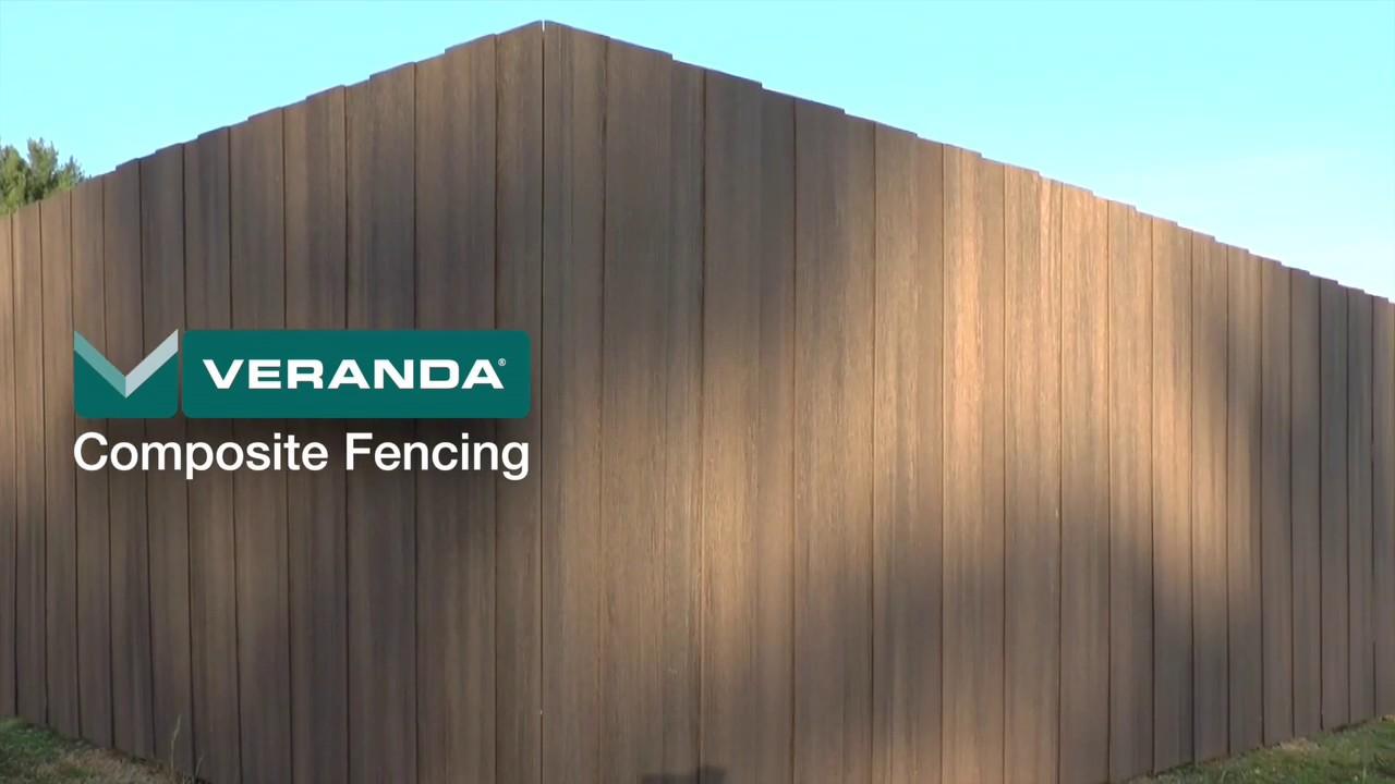 Veranda Composite Privacy Fencing