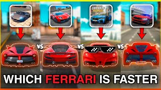 Ferrari Top Speed - Extreme & Ultimate Car Driving Simulator & Car Parking Multiplayer & DSS 2020 screenshot 4