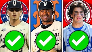 BEST PICKS of the 1st Round 2021 MLB Draft
