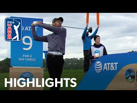 19-year-old Akshay Bhatia shoots  8-under 64 | Round 1 | AT&T Pebble Beach | 2021