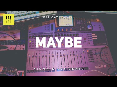 90s old school boom bap type beat x chill freestyle hip hop instrumental | 'Maybe'
