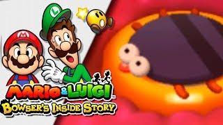 BICHOS DENTRO DE BOWSER!! | Mario & Luigi: Bowser Inside Story 3DS | Ep 7 -- RED SHOCK --