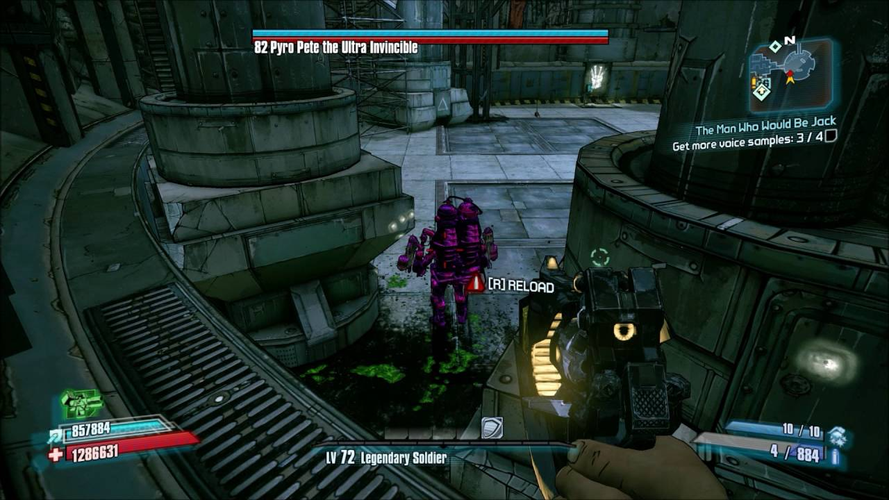 Borderlands 2 - Farming Pyro Pete the EASIER way - better use of Glitch