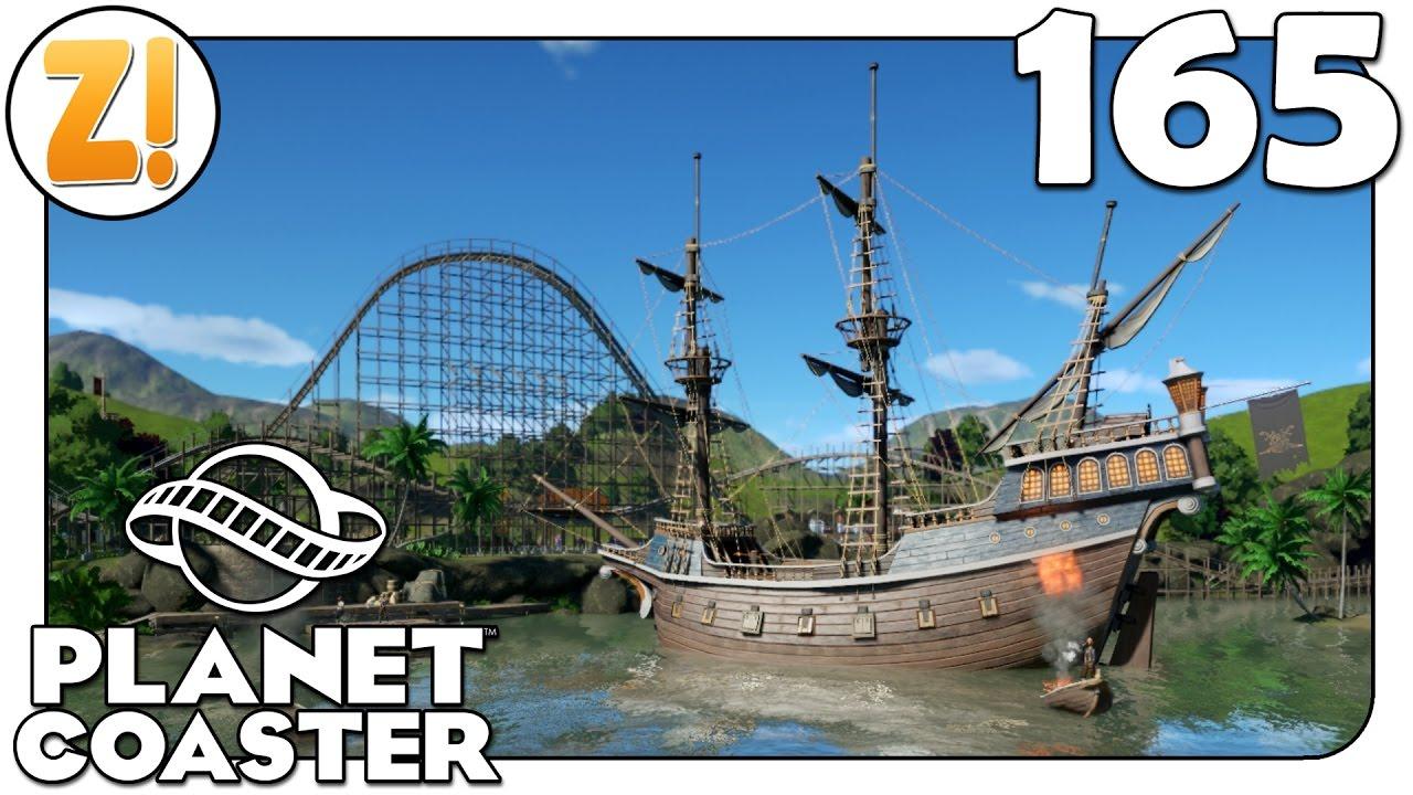 Planet Coaster [Beta]: Piratastisches Szenario