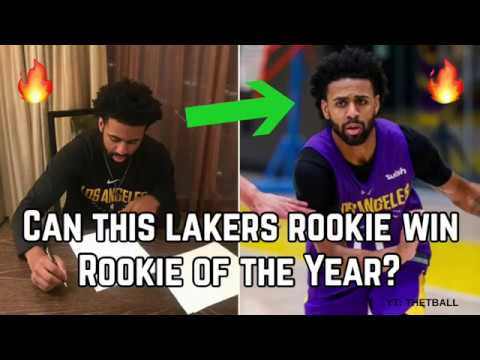 Meet The Unlikely Lakers Rookie Who Thinks He Can Win NBA Rookie Of The Year! | Los Angeles Star?