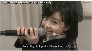 さくら学院 (Sakura Gakuin) 2018 Nendo Transfer Ceremony IG- @MemesG...