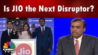 Is JIO the Next Disruptor? | Reliance's Digital Push | 41st #RILAGM | CNBC TV18