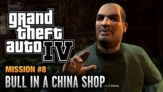 GTA 4 - Mission #8 - Bull in a China Shop (1080p)