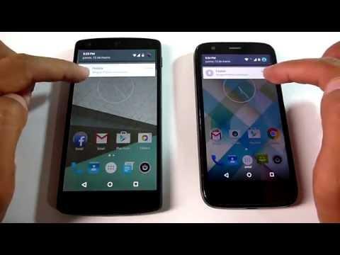Así son las novedades de Android 5.1 (Lollipop) y comparación con Android 5.0