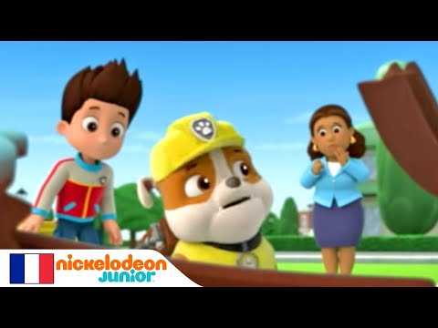 paw patrol la pat 39 patrouille le wagon nickelodeon junior youtube. Black Bedroom Furniture Sets. Home Design Ideas