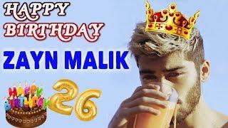 Zayn Malik 26th Birthday Special... Happy Birthday Zayn..!
