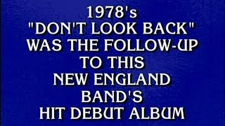 Jeopardy Boston Question
