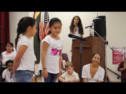 Davis Bilingual Magnet School 1st Grade Poetry Recital Sr. Barcelo Sra. Badilla