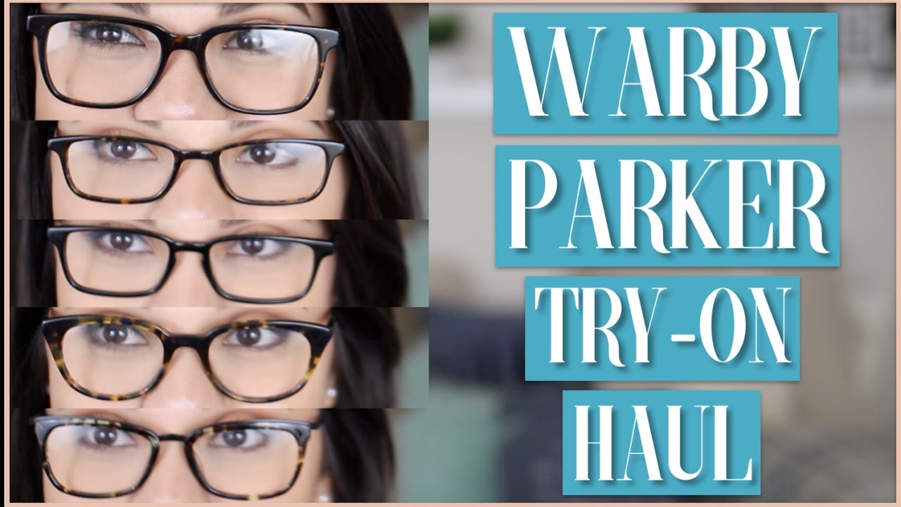 8f4262502097 Warby Parker Cat-Eye Glasses Haul |AmberGTL - YouTube