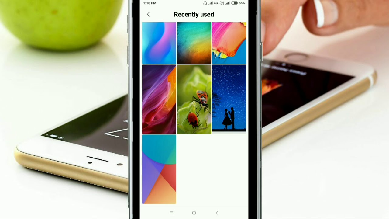 How To Change Wallpaper In Redmi Note 5 Pro Youtube