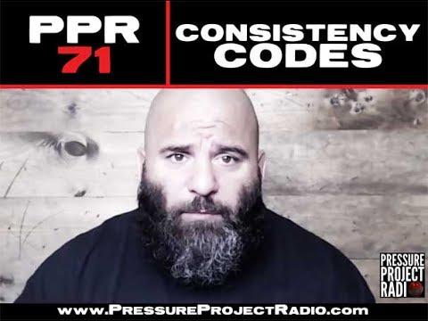 CONSISTENCY CODES - PRESSURE PROJECT RADIO 71