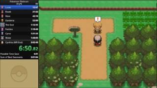 Pokemon Platinum Any% Speedrun in 2:56:13