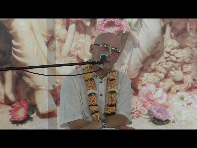 Лекция Е.М. Адикарты прабху на фестивале Санкиртаны