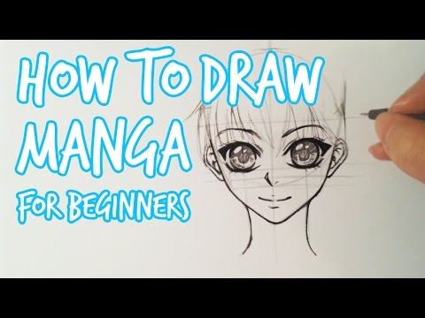 How To Draw ★ Female Manga Face For Beginners ★ Slow Tutorial