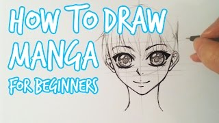 How To Draw ★ Female Manga Face For Beginners ★ Slow Tutorial(It's been almost 4 years since I upload my first