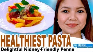 [Renal Diet Recipe] True Italian Pasta No-Sodium Low-Potassium