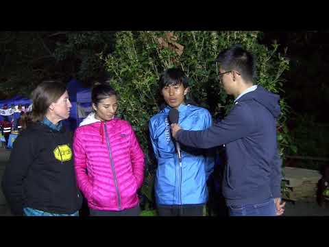 Miao Yao and Min Qi, 2018 Vibram Hong Kong 100k Champions, Interview