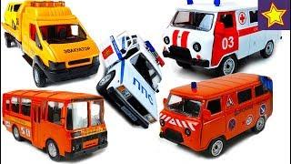 Машинки Автотайм Сборник лучших серий с историями Cars Toys for kids