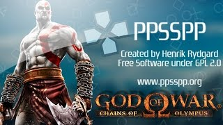 [PC] PPSSPP 0.8.1 - God of War: Chains of Olympus
