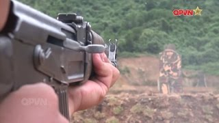 Bia chống nước huấn luyện bắn súng: Sáng kiến nhỏ, hiệu quả lớn