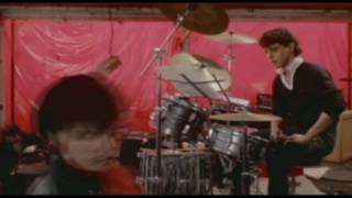 Vince Colosimo playing drums in