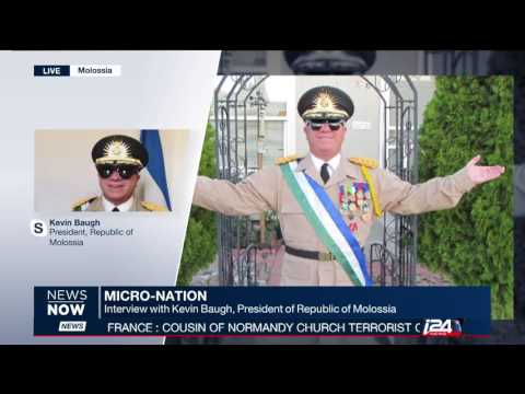 Kevin Baugh President, Republic of Molossia | Micro-Nation near Nevada