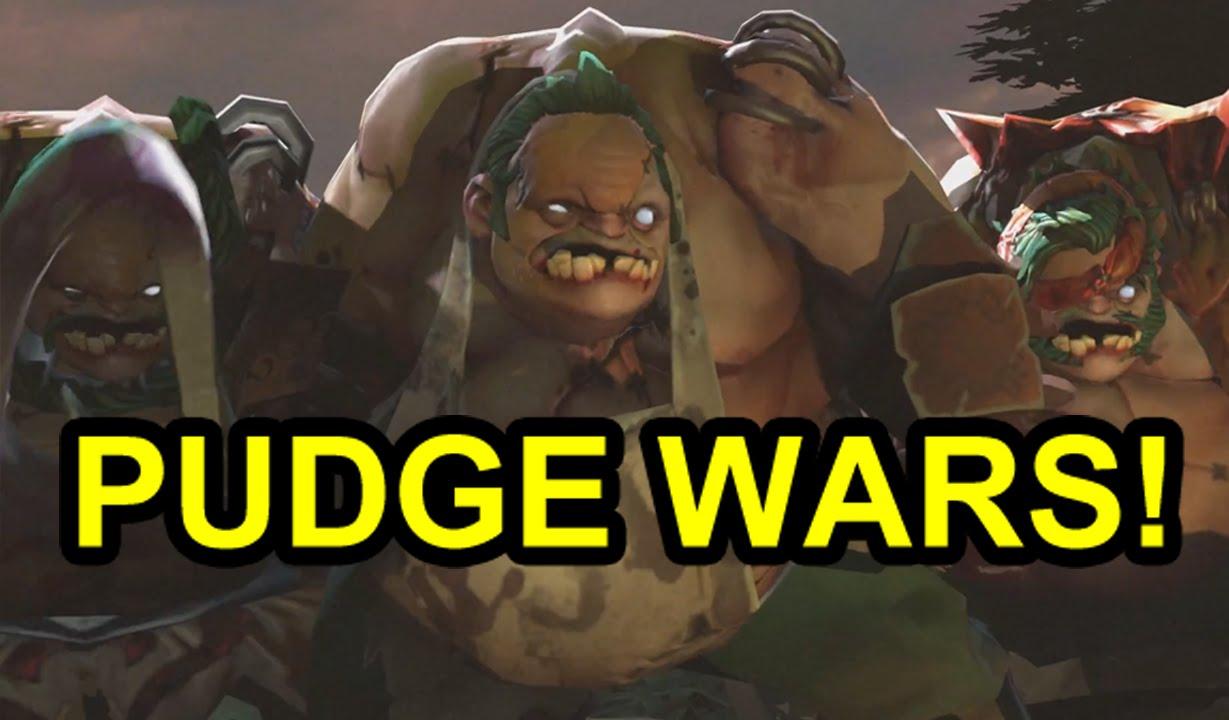 ▶ DOTA 2 Reborn! Pudge Wars Custom Game!