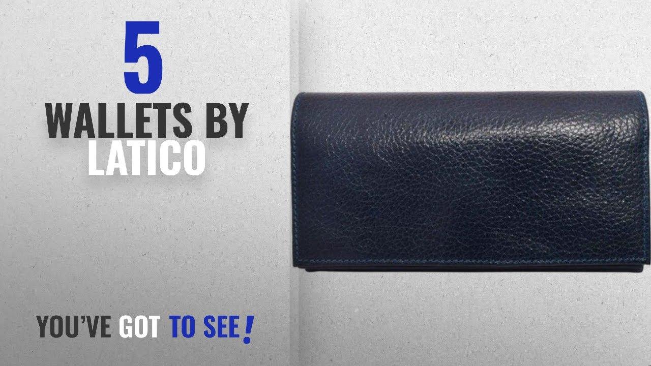 65eab3bb909c Top 10 Latico Wallets [2018]: Latico Yasmin Wallet, 100% Authentic Leather,  Designer Made, Artisan