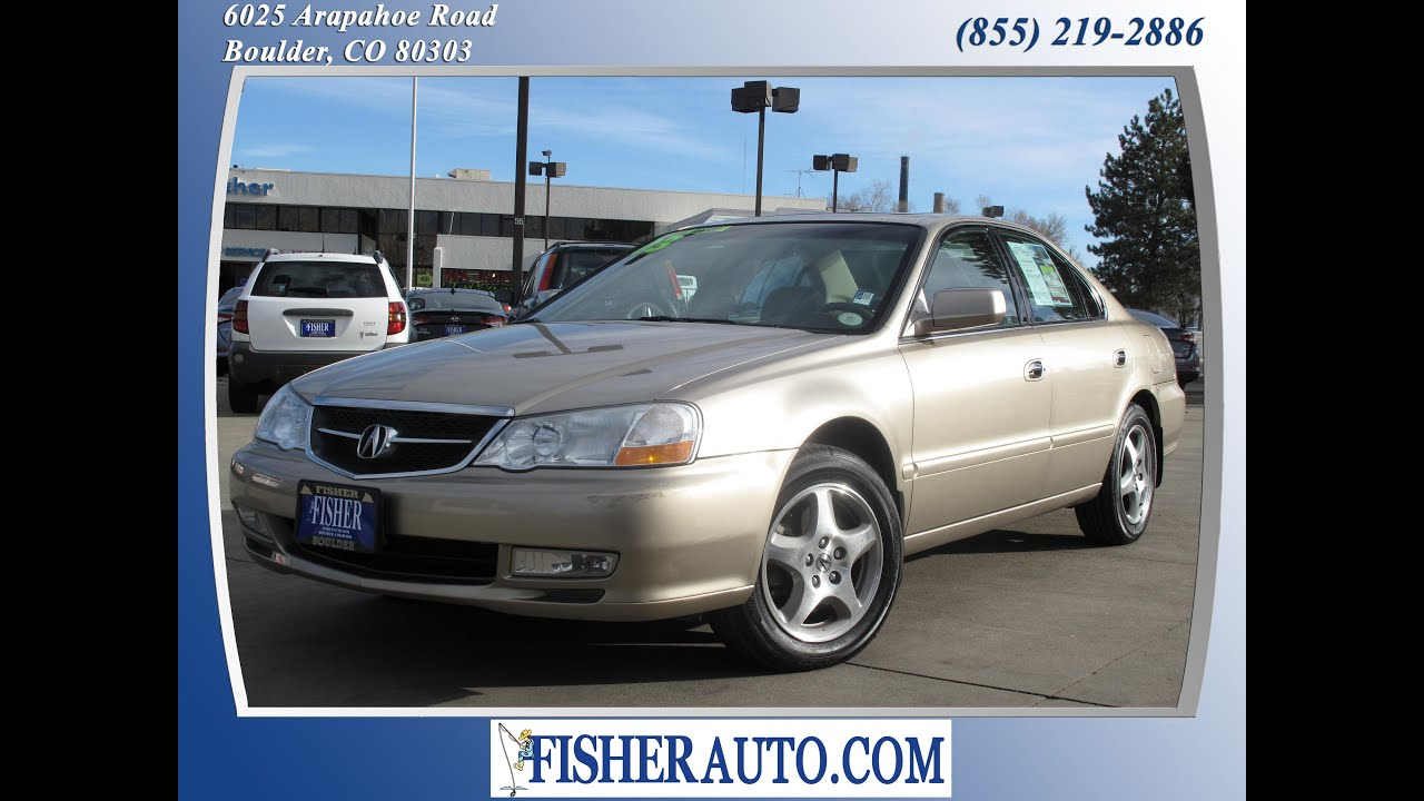 2003 Acura TL desert $9 900 Boulder Colorado