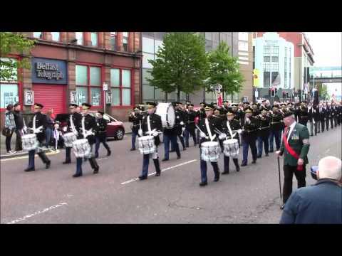 36th Ulster Division Mem Association Parade Belfast 9/5/2015 (Part1)