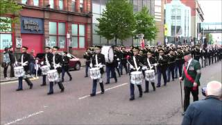 36th Ulster Division Mem Association Parade Belfast 9/5/2015 (Part1)