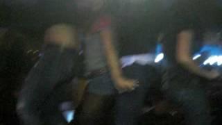 Girls Dancing on Pool table at Bayonne bar