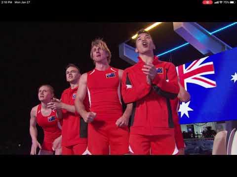 Bryson Klein's Stage 2 Run - American Ninja Warrior: USA Vs The World