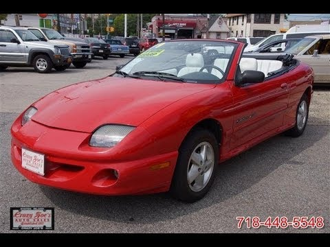 1999 pontiac sunfire gt convertible youtube. Black Bedroom Furniture Sets. Home Design Ideas