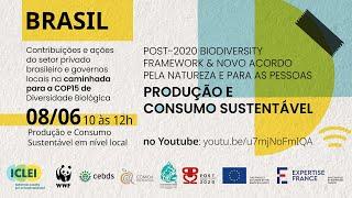 Produção e Consumo Sustentável em nível local