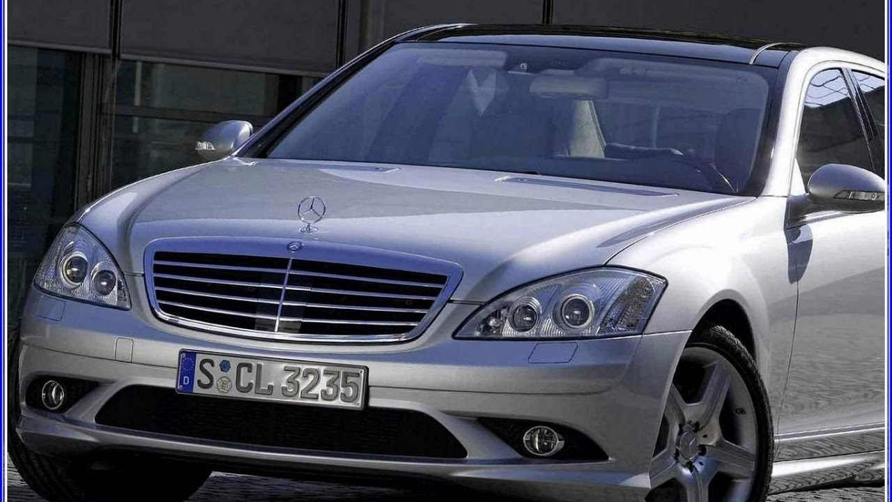 2006 Mercedes S500 AMG 4Matic SClass Saloon  YouTube