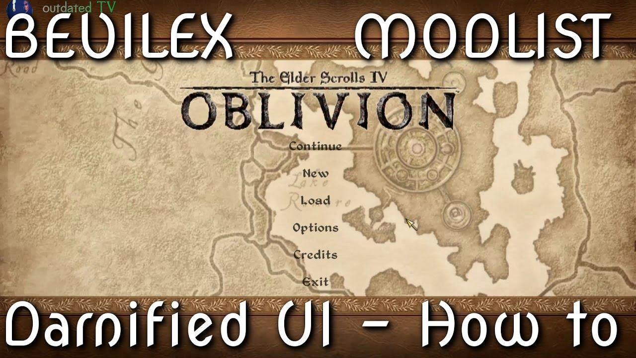 Bevilex' modlist - Darnified UI - How to