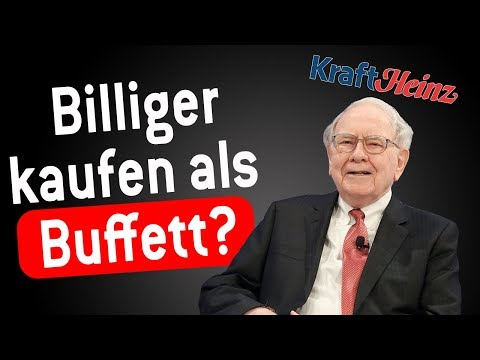 Kraft Heinz Aktie: 50% billiger als Buffett kaufen?