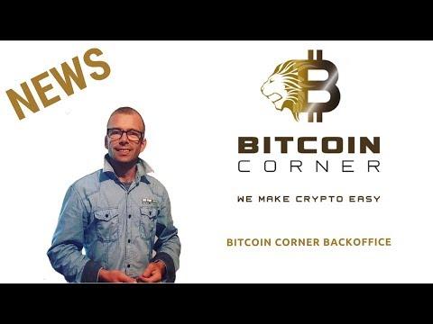 Bitcoin Corner Dashboard