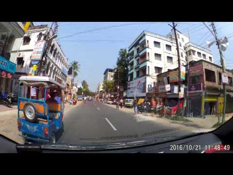 Jessore Road - From Airport To Barasat In Congested Traffic Condition - Dash Cam Video (1080p 60fps)