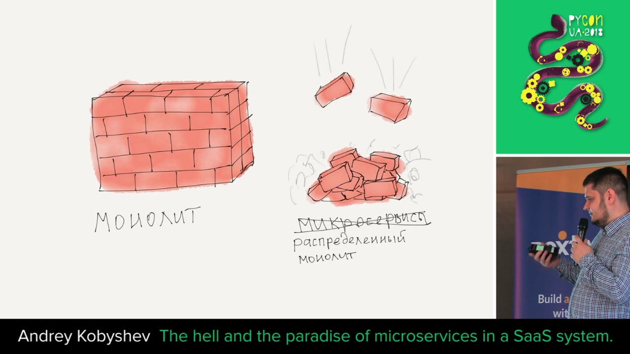 Image from The hell and the paradise of microservices in a SaaS system.