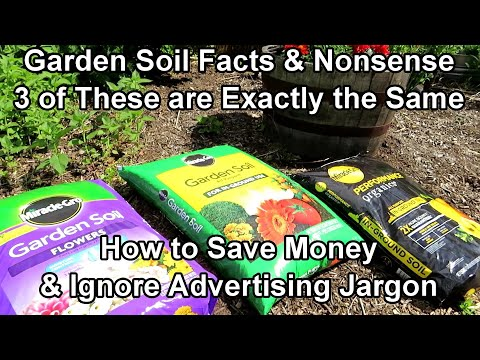 Bagged Garden Soil Explained to Save You Money: Let's Look at ASTERISKS, Ingredients & Clai